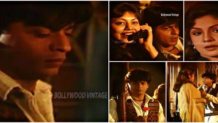 Страстная любовь 1996 Видео со съемок песни Tumne Dikh
