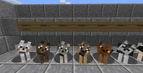 моды на майнкрафт 1.7.10 на собак #7