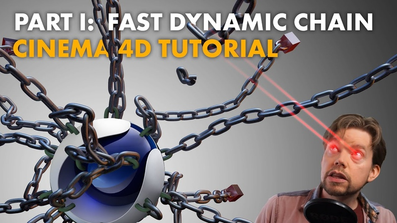 Cinema 4D Tutorial Part 1 Fast Accurate Dynamic Chains