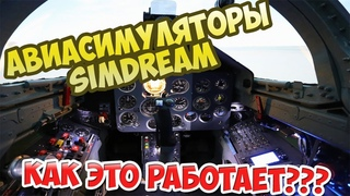 Авиасимулятор SimDream в Авиапарке. Как это работает?