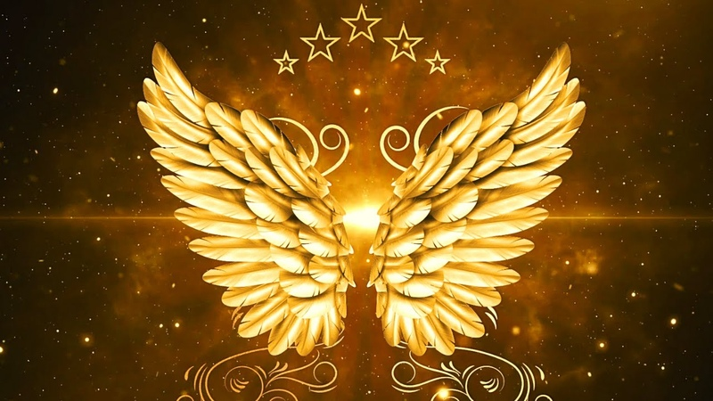 Wings of Abundance Connection with The Creative Source Divine Prosperity 963 hz