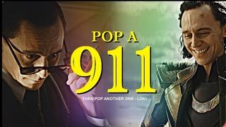 Loki Laufeyson    Pop a 911 [+1x01]
