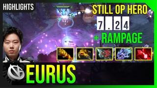 Eurus - Outworld Devourer | STILL OP HERO  + RAMPAGE | HIGHLIGHTS Dota 2 Pro MMR Gameplay