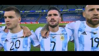 Así jugó Rodrigo De Paul vs Brasil ᴴᴰ