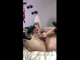 Becky Crocker, Blonde, Cam, Toy, Big Ass, Dildo Fuck Porn