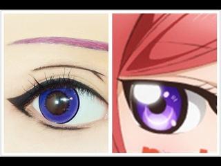 Nishikino Maki | Tutorial : Anime Eye Makeup 213