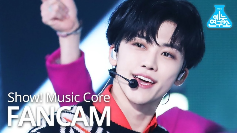 예능연구소 NCT U 재민 직캠 'Work It' NCT U JAEMIN FanCam @Show MusicCore 201128
