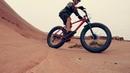 FAT BIKE skinny legs - 28 - Bartlett Wash ~ MOAB, UTAH