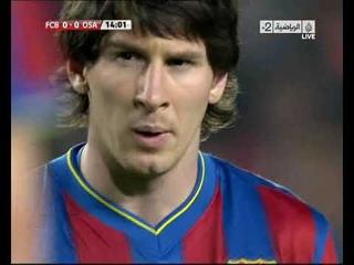 Season 2009/2010. FC Barcelona - CA Osasuna - 2:0 (highlights)