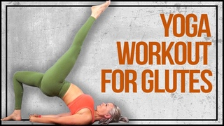 Yoga Workout for Glutes - Strength & Stretch