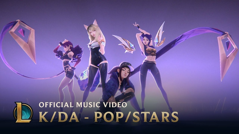 K DA POP STARS ft Madison Beer G I DLE Jaira Burns Music Video League of Legends