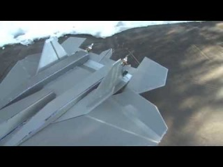 RCPowers design Sukhoi Pak-Fa V2 T-50 RC Depron Twin engine Thrust vectoring first flights