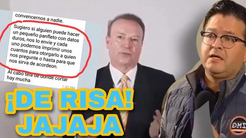 ¡SE FILTRA CONVERSACIÓN DE FRENAAA! ASÍ SE ORGANIZAN PARA LAS CARAVANAS FIFÍS CONTRA EL PRESIDENTE