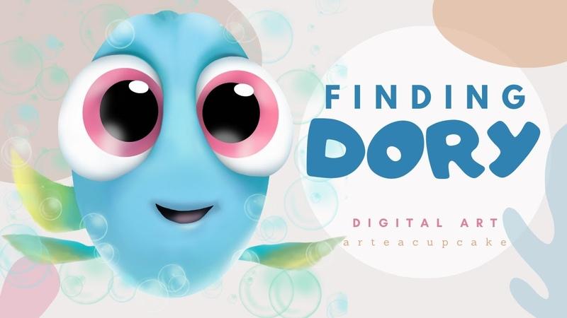 Digital Art for Beginners Finding Dory SketchbookPro