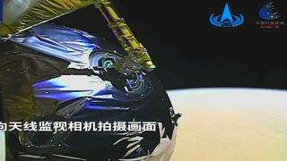 """Китайский зонд """"Тяньвэнь-1"""" прислал первое видео с орбиты Марса!!!"""