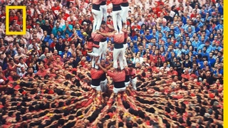 These Death-Defying Human Towers Build on Catalan Tradition   Short Film Showcase