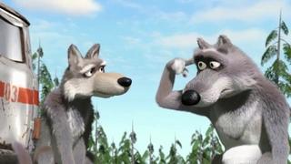 Волк крутит у виска|Мем с волком из мультика на случай ВП