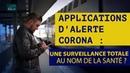 20 Applis Corona testées surveillance totale