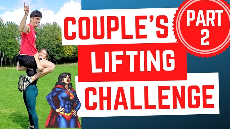 COUPLES LIFT AND CARRY CHALLENGE PART 2 I lost again 😩