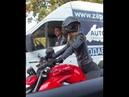 водитель газели отбил кулак мотоциклистке мотоТаня Ducati streetfighter v4