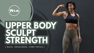 THIS WILL CHANGE THE WAY YOU TRAIN YOUR UPPER BODY - Back, shoulders, core of steel || Massy Arias