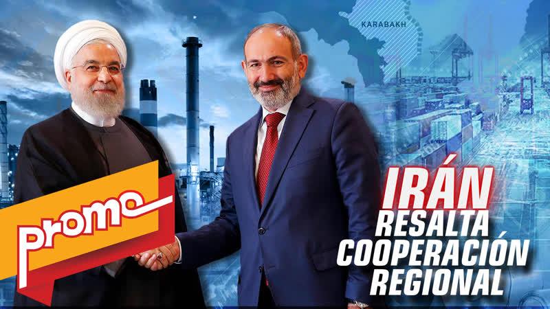 Promo Detrás de la Razón Canciller Zarif inicia gira por la región del Cáucaso para estrechar cooperación