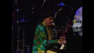 Little Richard performs Lucille at the Rock & Roll Hall of Fame