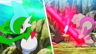 Ash (Farfetch'd) vs Rinto (Gallade) & Genba (Gurdurr) | Pokemon Journeys Episode 51【AMV】