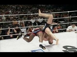 Кевин Ренделман vs Федор Емельяненко. Лучший бросок в истории боев без правил