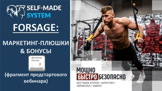 🔔Self Made System  🚀  FORSAGE 🚀 МАРКЕТИНГ-ПЛЮШКИ & БОНУСЫ💰💰💰💪🏻