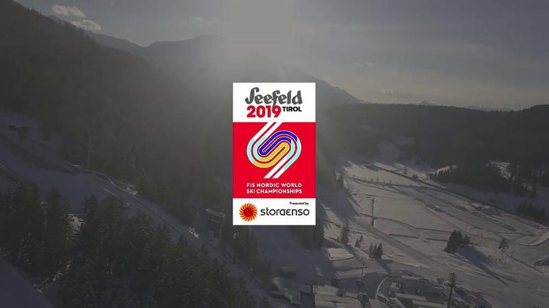 Vorbereitung auf die FIS Nordische Ski WM 2019