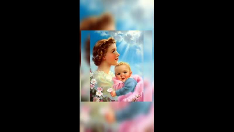 поздравляет всех мам с наступающим праздником и дарит песню Мама моя 2 mp4