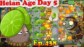 Plants vs. Zombies 2 (China) - New Splitting Stephania Ninja Imp Zombie - Heian Age Day 5 ()