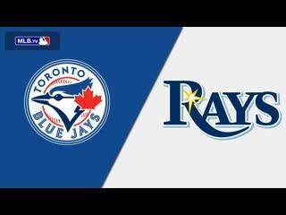AL /  / TOR Blue Jays  TB Rays (4/4)