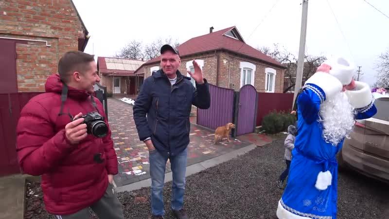 Yura Vorozhko Уже не бездомный который вернул кошелек подарил подарки многодетным семьям в День Святого Николая