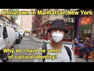 4k Walking Chinatown in Manhattan,New York