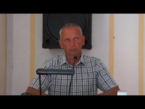 Церковь ЕХБ города Боброва Андрей Иванов Слово в заключении собрания