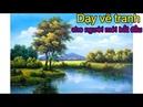 Dạy Vẽ Tranh Phong Cảnh Nước Ngoài, liên hệ học vẽ tại xưởng: 0969.033.288. tt Mỹ Thuật Việt tổ chức