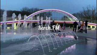 Заработал фонтан в Комсомольском парке