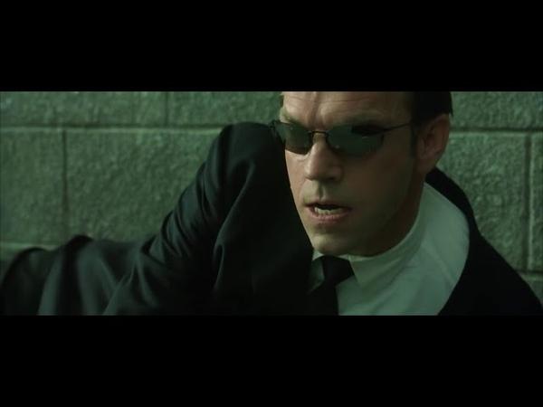 Нео против агентов Смитов часть 2 Матрица Перезагрузка HD