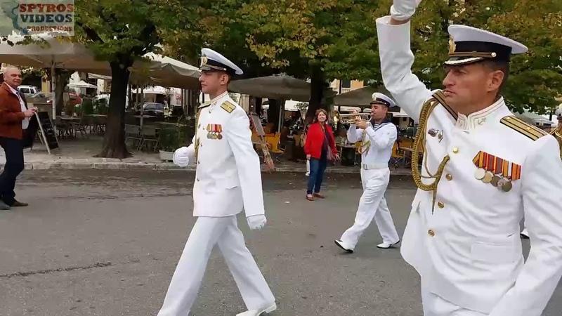 Μπάντα Στόλου Μαύρης Θάλασσας και άγημα στο Λιστ9