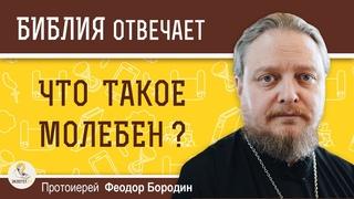 Что такое молебен ?  Протоиерей Феодор Бородин