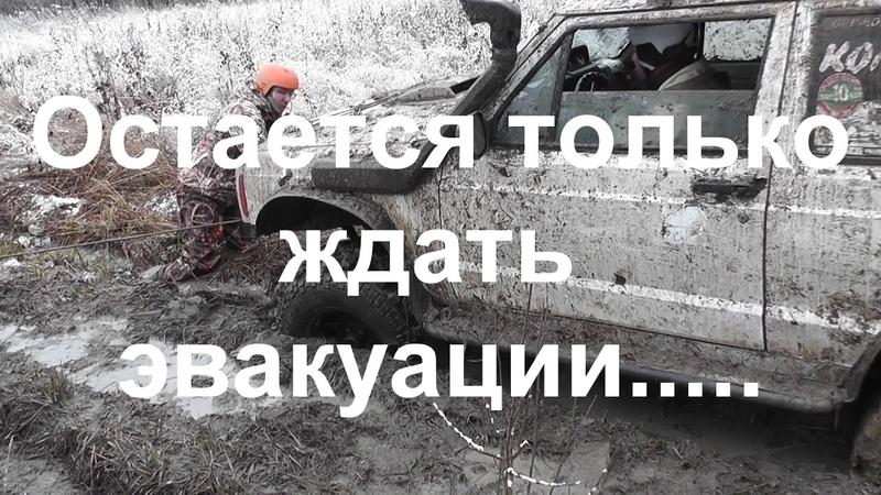 Рыбинск Медведь трофи Легкий старт и тяжелая эвакуация