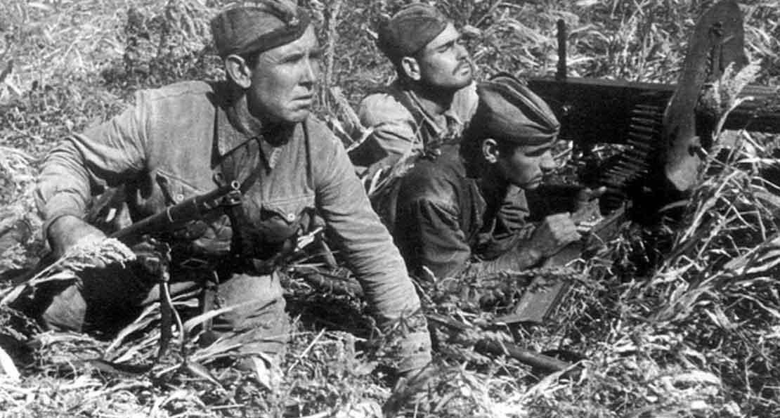 Пулеметчики РККА
