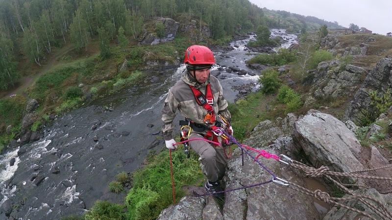 Порог Ревун река Исеть сплав Урал сборы по альпинизму