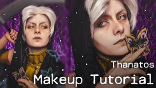 Thanatos - Hades Game Cosplay Makeup