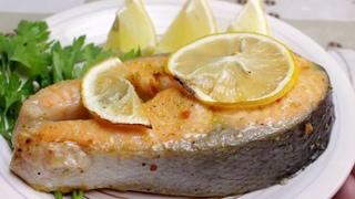 СТЕЙК из лосося (сёмги) в духовке за 20 минут