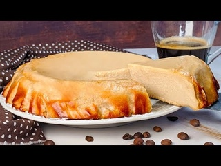 Gâteau au café sans farine qui fond en bouche ! 5 ingrédients