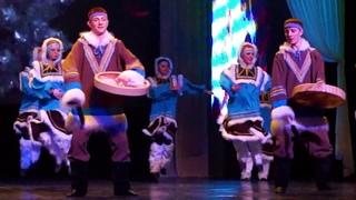 Корякский танец - ансамбль танца Калына
