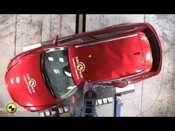 Краш тест самые безопасные семейные авто 2018 Crash test Safest Family Cars 2018 EuroNCAP